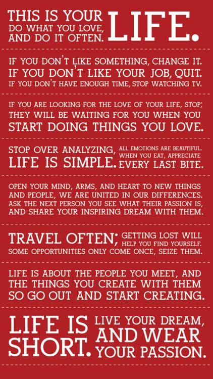 quotes  living  passion quotesgram