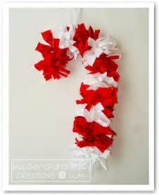 candy cane wreath christmas crafts pinterest