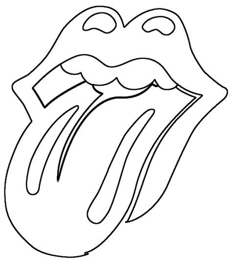 printable lips coloring pages  getcoloringscom
