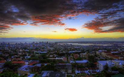 Africa South Durban Wallpapers Sunset Desktop Sky