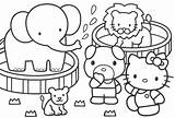 Zoo Coloring Pages Print Colouring Printable Hello Dessin sketch template