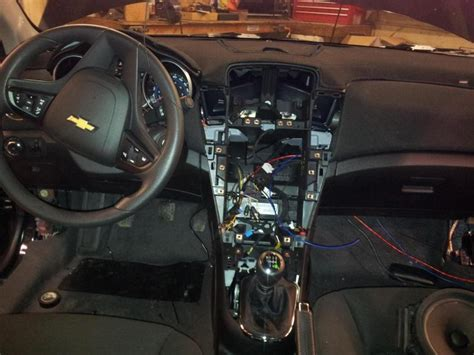 chevrolet cruze eco full audio install page