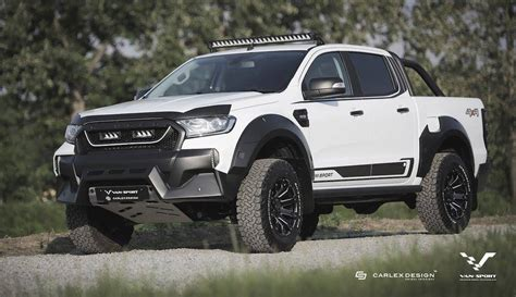 Ford Ranger M Sport Looks Like A Baby Raptor   Carscoops