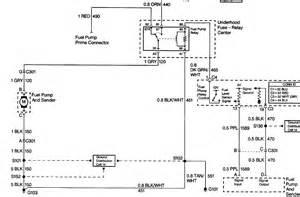 Chevy Express Van Fuel Pump Wiring