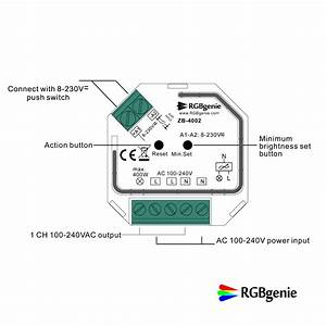 Micro Controller And Lamp Module - Single Channel Trailing Edge Dimmer  Zigbee