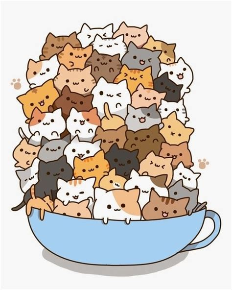 anime japanese cat anime images cats in a tea cup wallpaper and background