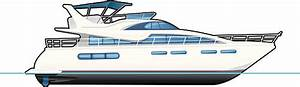 Royalty Free Luxury Yacht Clip Art, Vector Images ...