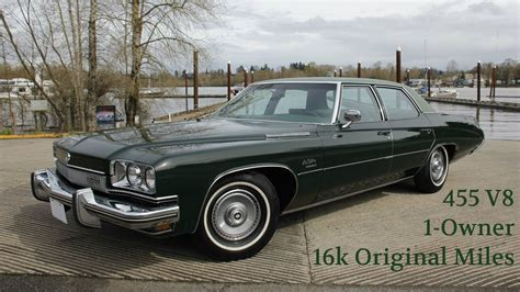 plain green wrapper 1973 buick lesabre with 16k