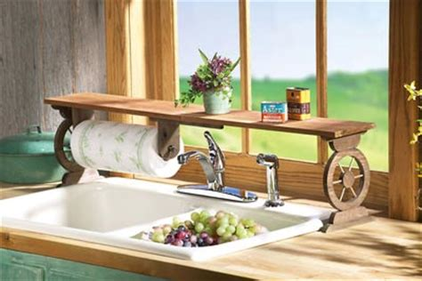 Red Over The Sink Shelf by Country Rooster Kitchen Sink Shelf Ebay Kitchen Ceiling