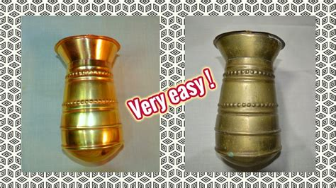 how to clean antique brass ls the best trick to clean bronze youtube
