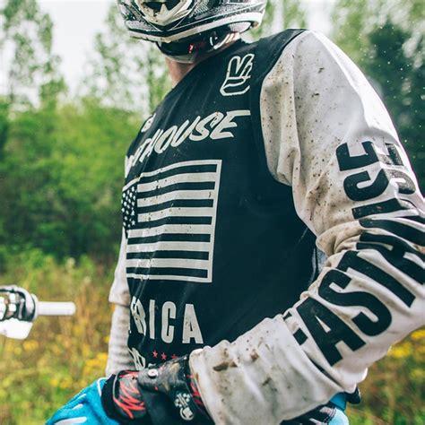 black friday motocross gear fasthouse new mx america dirt bike vintage black white