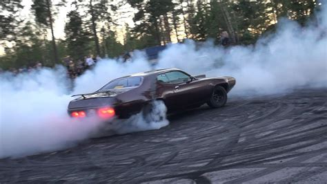Epic Muscle Car Burnouts!! Plymouth Gtx