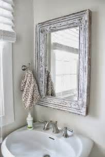 bathroom mirror frame ideas bathroom bliss by rotator rod small bathroom chic mirrors make bathrooms look bigger