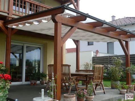 terrassenuberdachung sonnensegel sonnenschutz terrassenüberdachung selber bauen