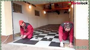 Spád podlahy v garáži