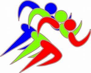 Runners Clip Art at Clker.com - vector clip art online ...