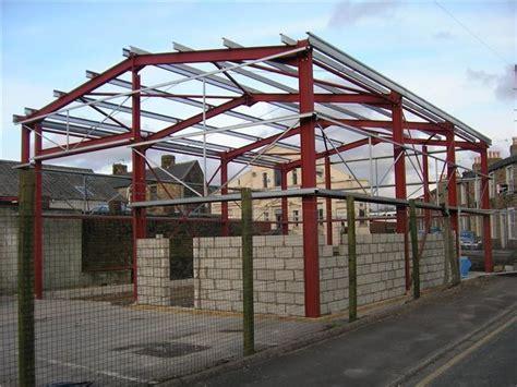 image result   span portal frame  sips roof