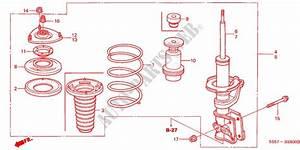 Front Shock Absorber Steering Brake Suspension Type R 2003