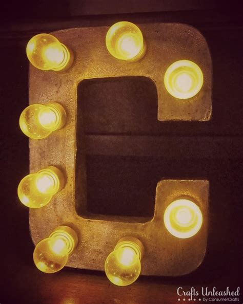 how to make your own light up letters sign letters tutoria make your own light up marquee 53034