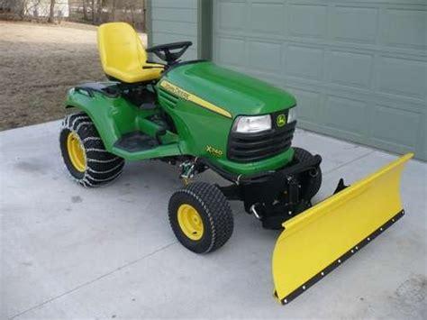 lawn mower to snow plow john deer obsessions pinterest
