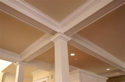 White Ceiling Beams Decorative - decorative ceiling beams