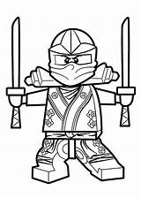 Lego Coloring Pages Ninjago sketch template