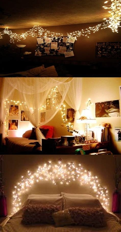 ideas    romantic bedroom  christmas light