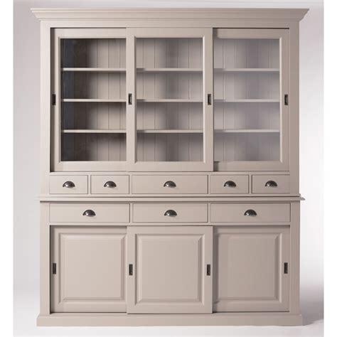 meuble de cuisine blanc pas cher cuisine blanc taupe