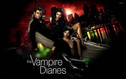 Vampire Diaries Wallpapers Salvatore Stefan Damon Elena