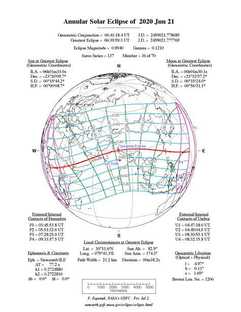 nasa annular solar eclipse   jun