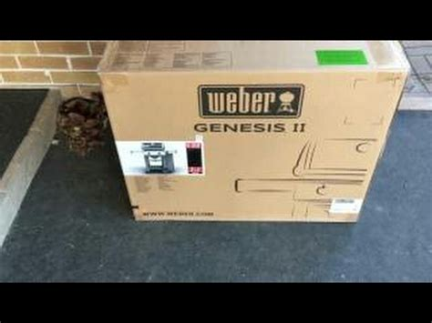 weber genesis e 310 unboxing and review weber genesis ii e 210 bbq