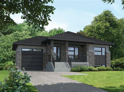 Split Level Starter Contemporary House Plan