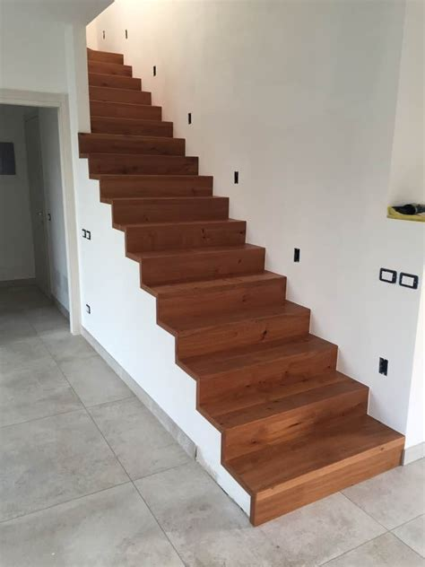 scale da interno moderne rivestimento scale da interno pagnoni parquet
