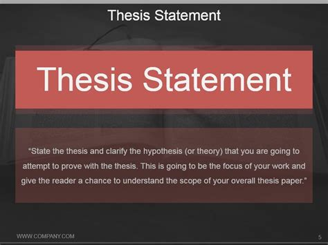 thesis proposal template thesis proposal outline
