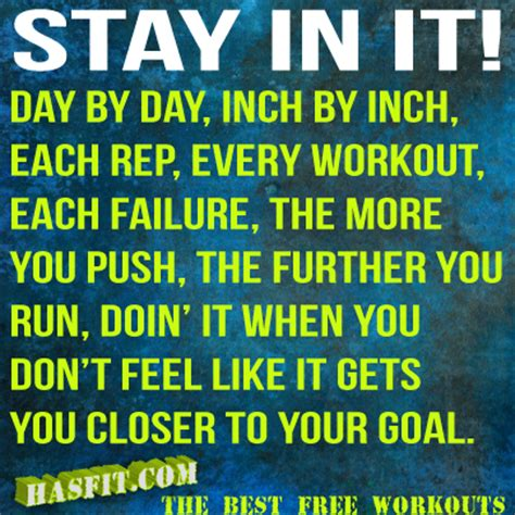 motivation workout quotes gym motivational fitness exercise shape shirts memes training inspiration getting goals inch hasfit push stay lifting