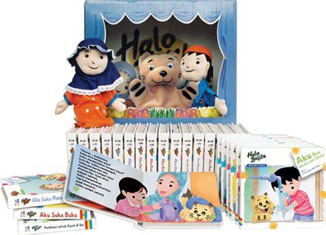 halo balita seri kebiasaan baik ruang membaca anak