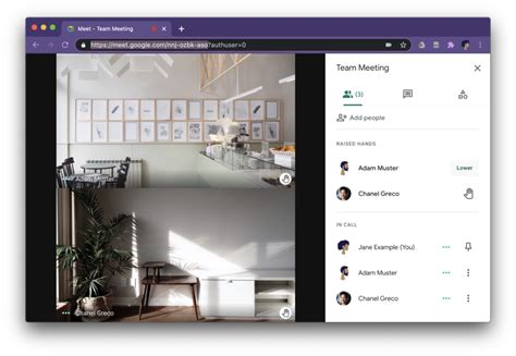 The extension currently works on google meet only for accounts that have the raise hand feature enabled (google workspace). How to use Google Meet Raise Hand Feature » saperis