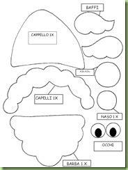 schemi feltro natalizio bertafilava