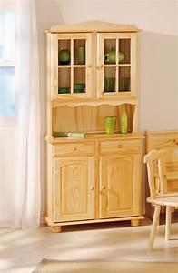 Buffet de cuisine rustique for Petite cuisine équipée avec meuble buffet vaisselier
