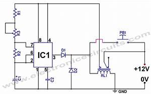 555 low power consumption timer circuit electronic circuits With photo timer circuit