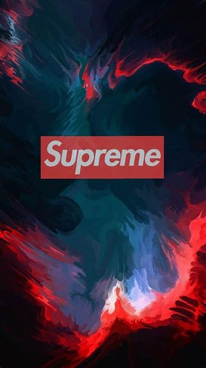 Supreme Wallpapers Desktop Cool Fondos Pantalla Dope