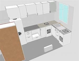 Idée Aménagement Petite Cuisine : amenagement petite cuisine fermee maison design ~ Dailycaller-alerts.com Idées de Décoration