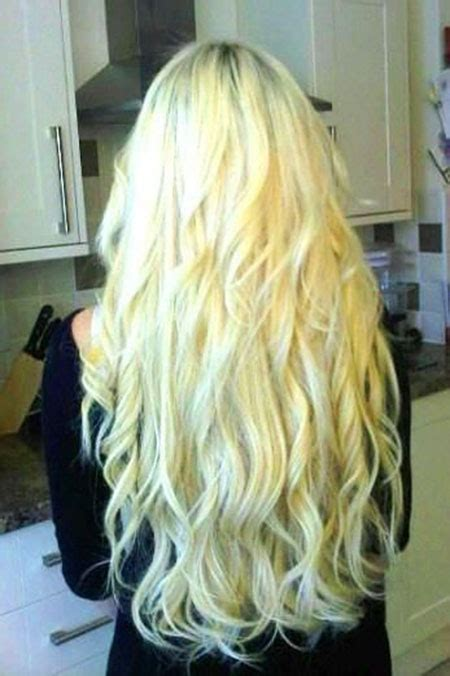 long blonde curly hairstyles blonde hairstyles