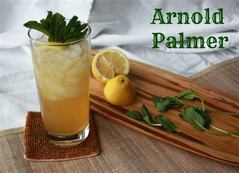 Mocktail Challenge Day 40 Arnold Palmer  Deliciously Well