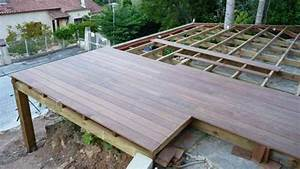 Installer Une Terrasse En Bois : prix terrasse bois selon type de bois ~ Farleysfitness.com Idées de Décoration