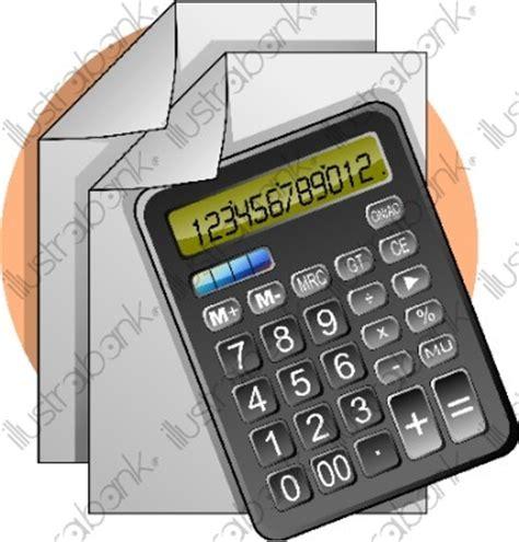 calculatrice bureau comptable illustration autre libre de droit sur