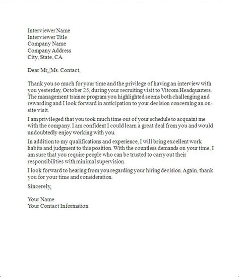 Thank You Letter For Someone Forwarding Your Resume by Follow Up Thank You Letter Sle Thank You Letter With