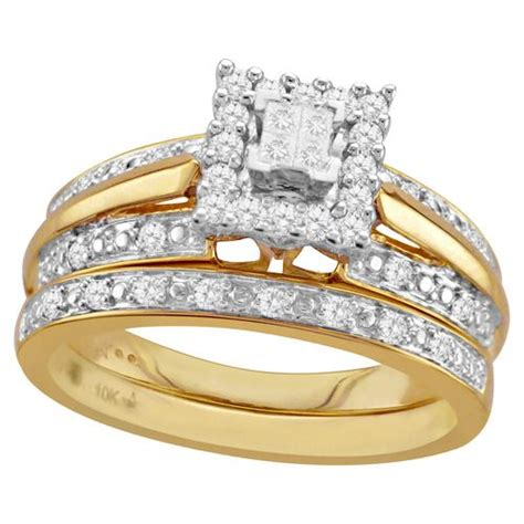 yellow gold bridal set stuff to buy yellow engagement