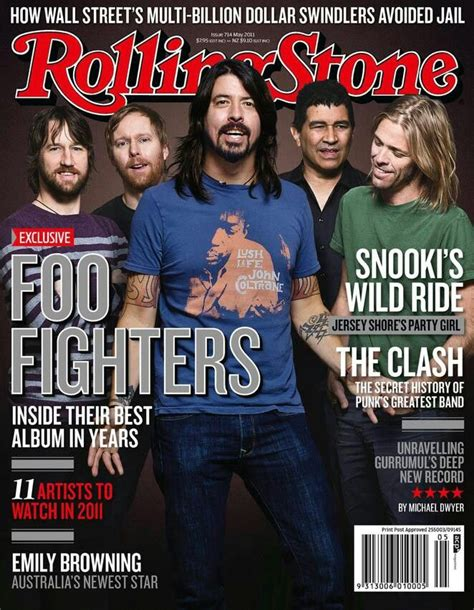 Rolling stones | Foo fighters, Foo fighters nirvana, Foo ...