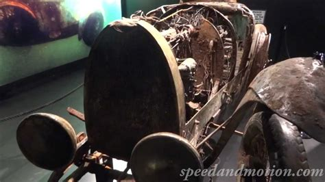 1925 Bugatti Type 22 Recoved From A